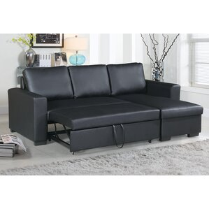 Singletary Sleeper Sectional  sc 1 st  AllModern : sleeper sectional sofa with chaise - Sectionals, Sofas & Couches