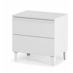 Nachttisch Diva mit 2 Schubladen von dCor design