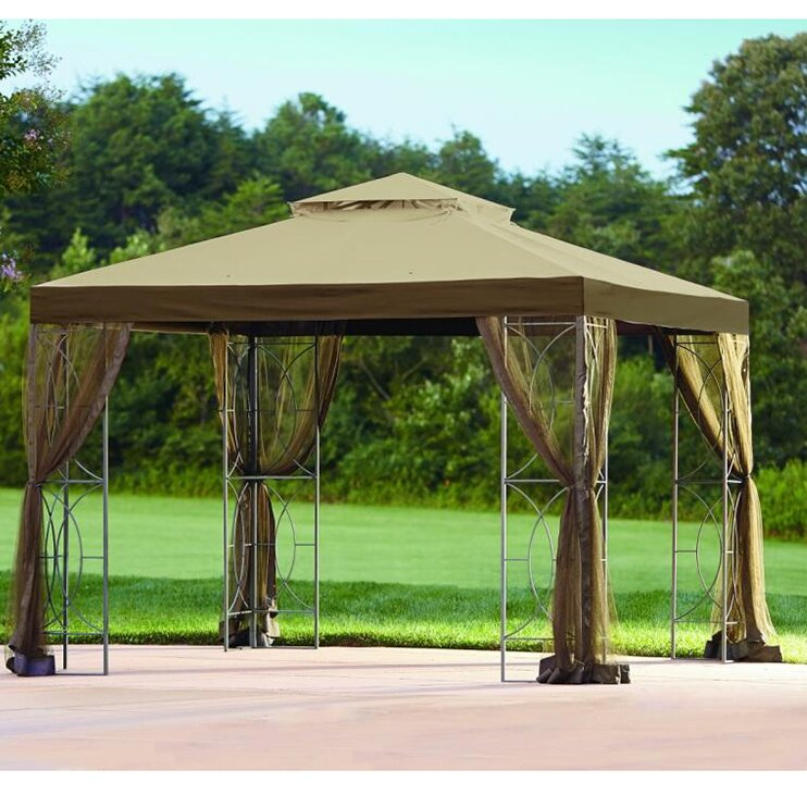 Replacement Canopy For 10 W X D Callaway Gazebo