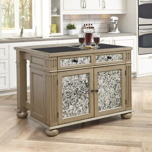 Visions Kitchen Island with Granite Top by Home Styles