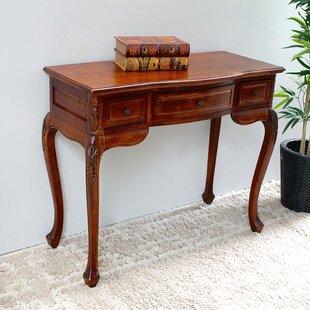 Charmant Keiper Hand Carved Wood Indoor Vanity Desk