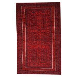 Balouchi Red/Black Indoor/Outdoor Area Rug
