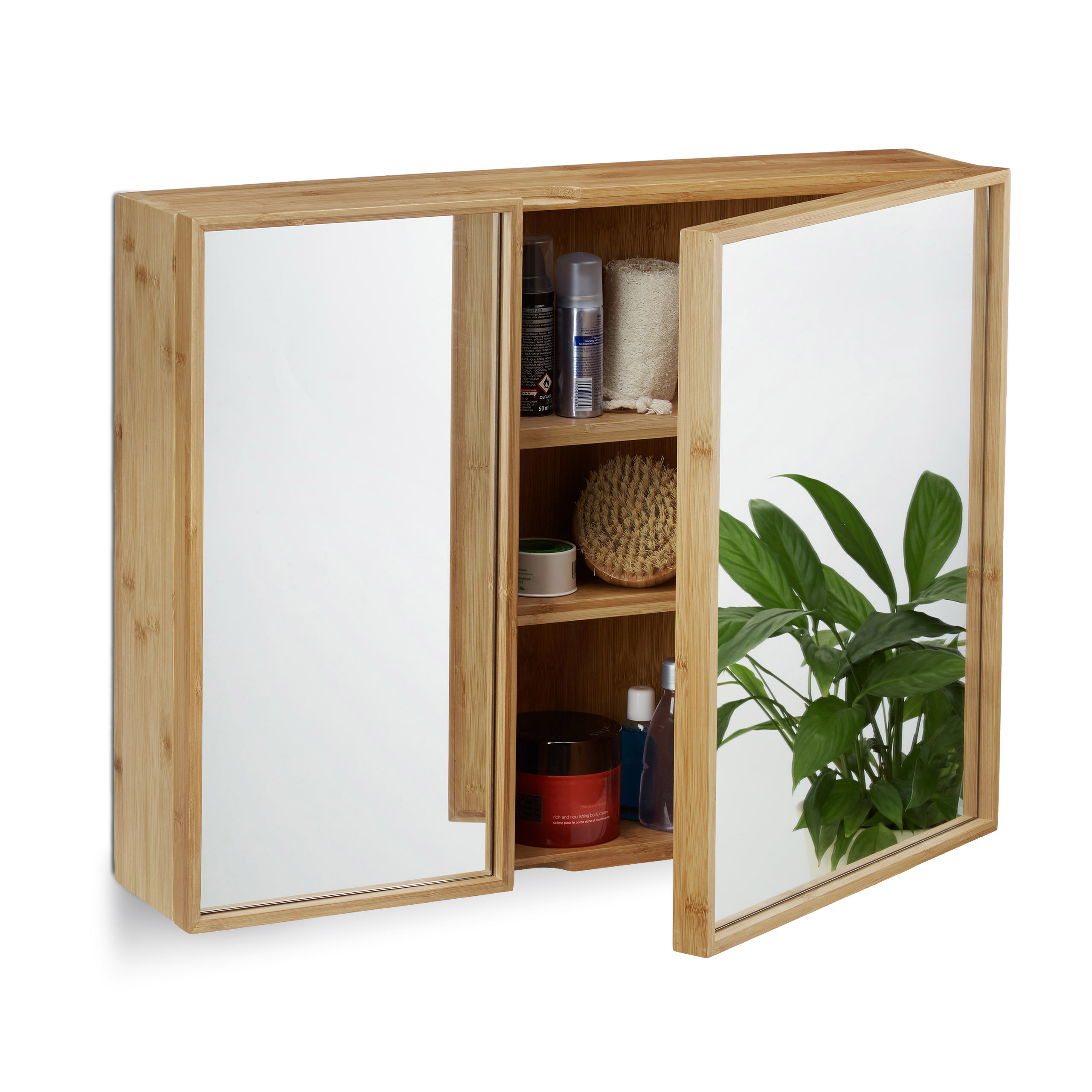 Hotaling 60 X 51cm Mirror Wall Mounted Cabinet