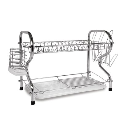 """22"""" Chrome Plated Dish Rack Better Chef"""