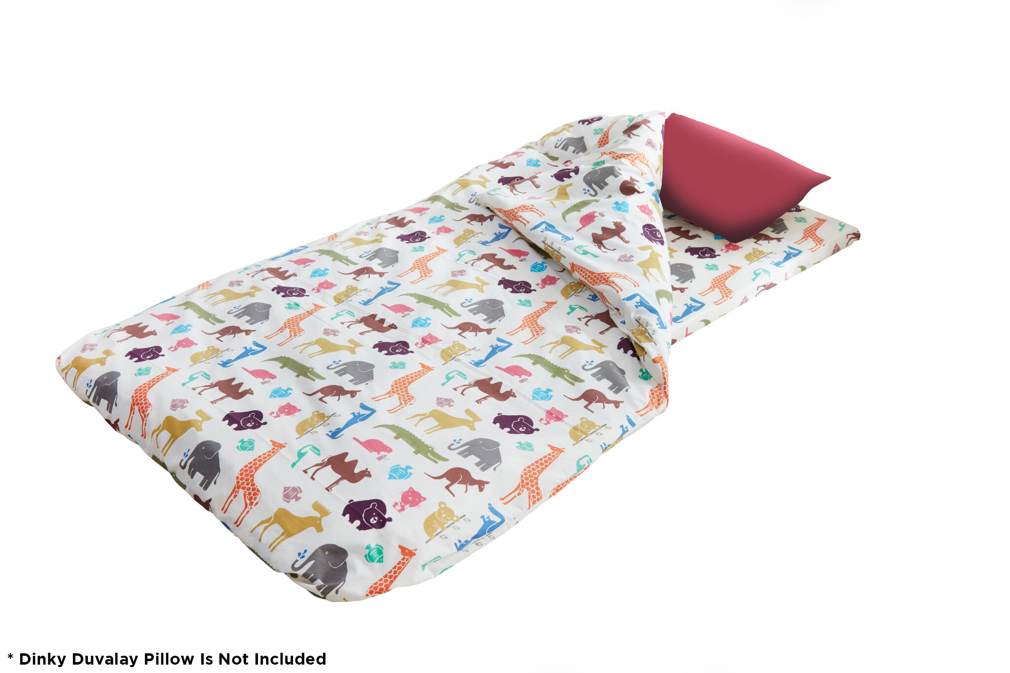 Disc O Bed Childrens Duvalay With Luxury Memory Foam Sleeping Bag