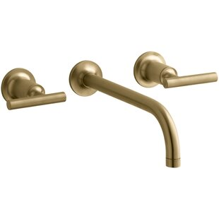 Modern Contemporary Brushed Gold Faucet AllModern - Brushed gold bathroom fixtures