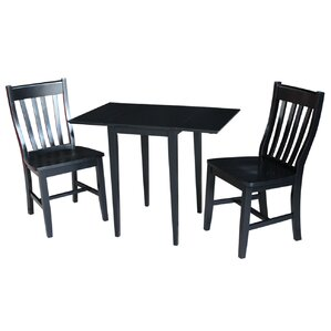 Bain 3 Piece Dining Set by Red Barrel Studio