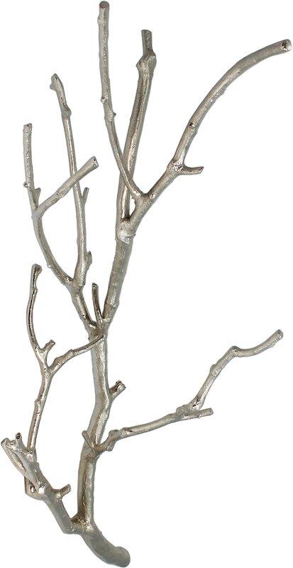 Aluminum Twig Branch Decor