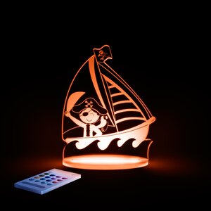 Aloka Pirate Night Light