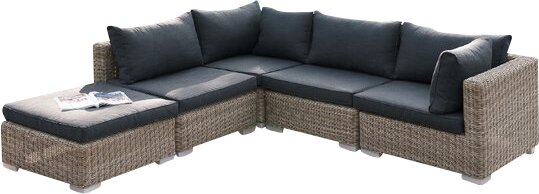 Amazing Atkinson 5 Piece Patio Sectional Set II With Cushions