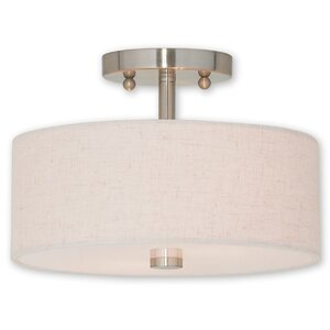 Alina 2-Light Semi Flush Mount