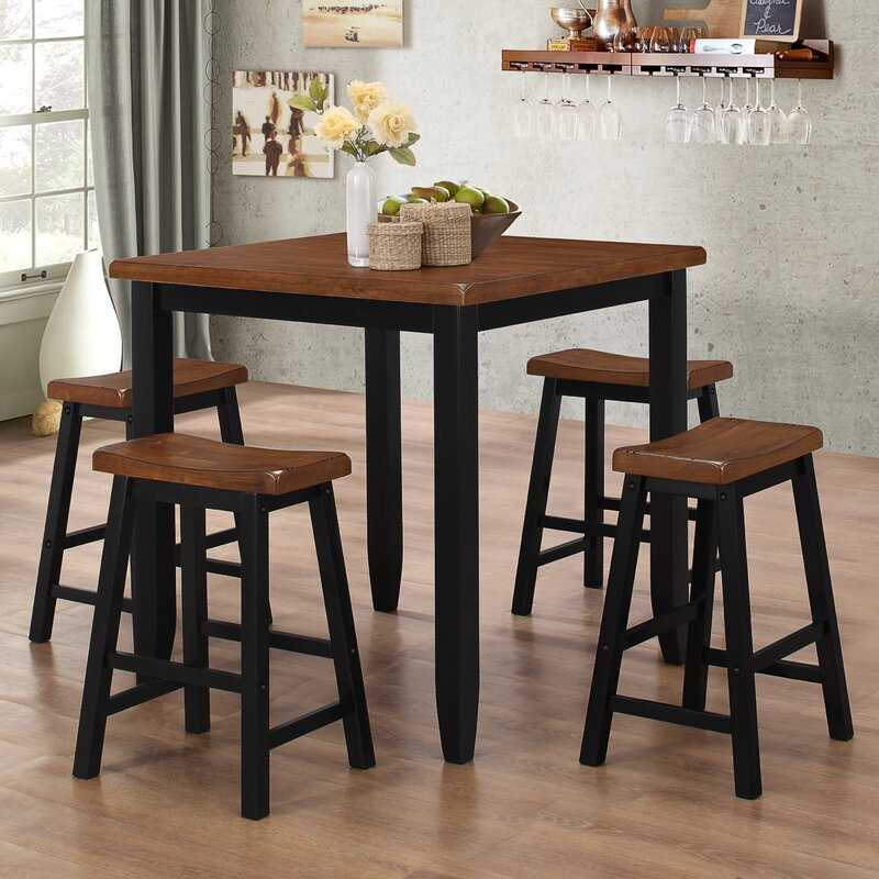 Darby Home Co Simmons Casegoods Ruggerio 5 Piece Counter Height Pub ...