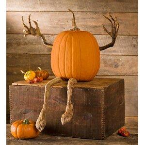 pumpkin vine figurine - Outdoor Pumpkin Decorations