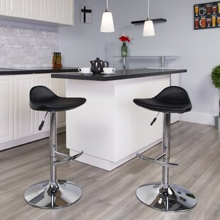 Steinway Adjustable Height Swivel Bar Stool
