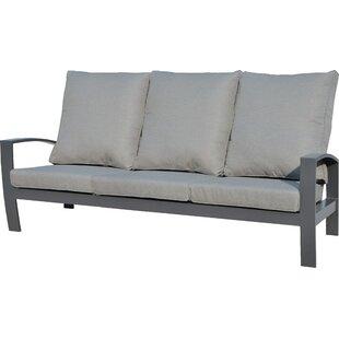 Crowle Garden Sofa with Cushions by Lynton Garden