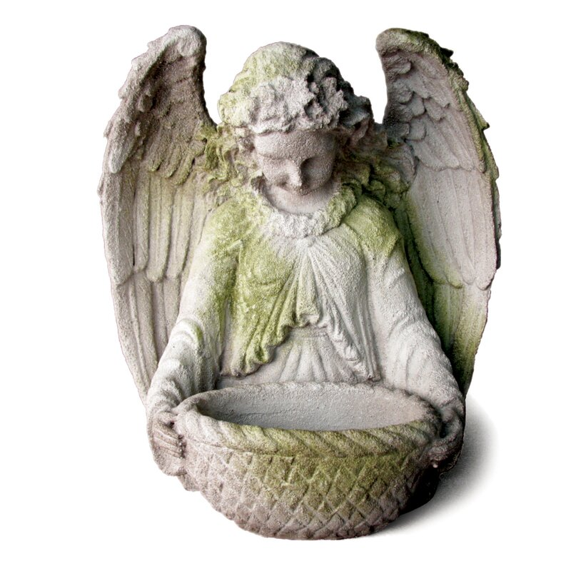 OrlandiStatuary Angels Garden Angel Statue Reviews Wayfair