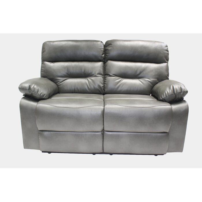 gray a reclining details loveseat steinhafels product power placier merchandise