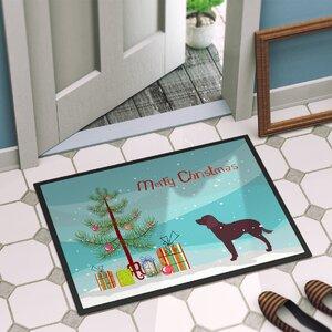 American Water Spaniel Door Mat