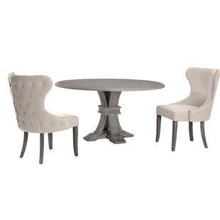Ahern 3 Piece Dining Set