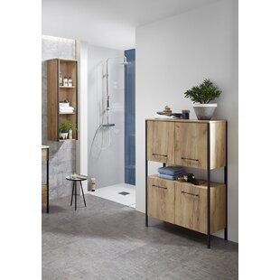 Lewistown 2 Piece Bathroom Storage Furniture Set