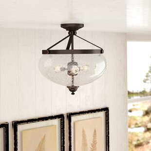 Harborcreek 3 Light Semi Flush Mount