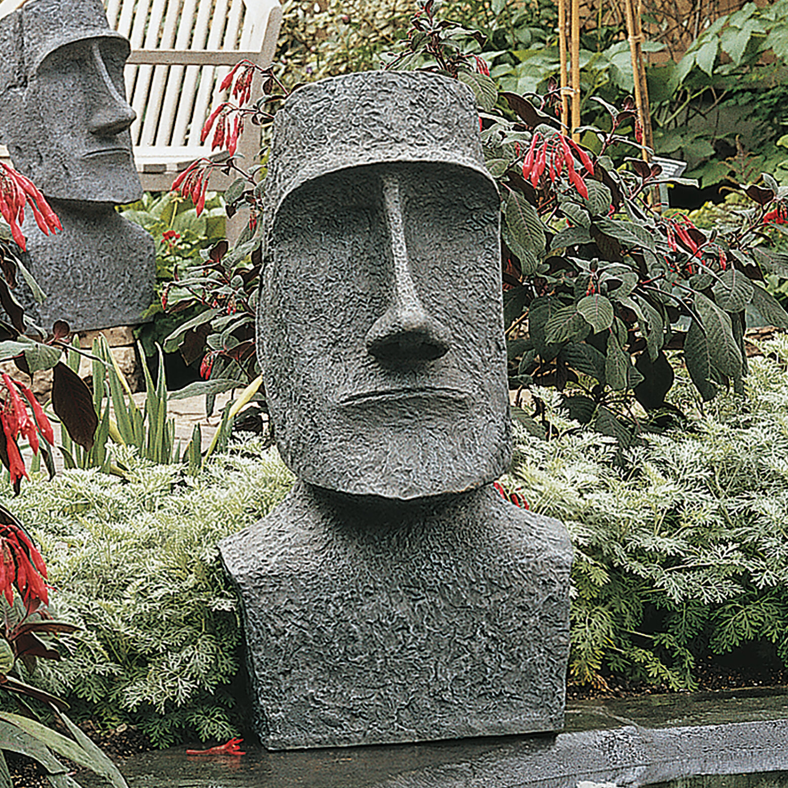Superbe Design Toscano Easter Island Ahu Akivi Moai Monolith Garden Statue U0026  Reviews | Wayfair