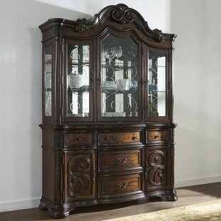 Royale Lighted China Cabinet Bargain