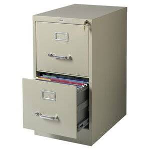 Scalzo 2 Drawer Letter Size File Cabinet