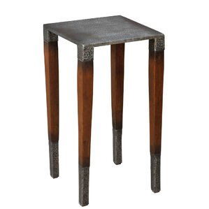 Burnford End Table by Sarreid Ltd