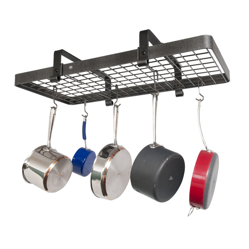Enclume USA Handcrafted Low Ceiling Undermount Pot Rack ...