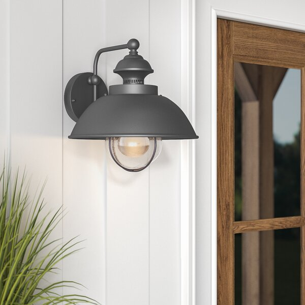 Beachcrest Home Nishi 1-Light Outdoor Barn Light & Reviews