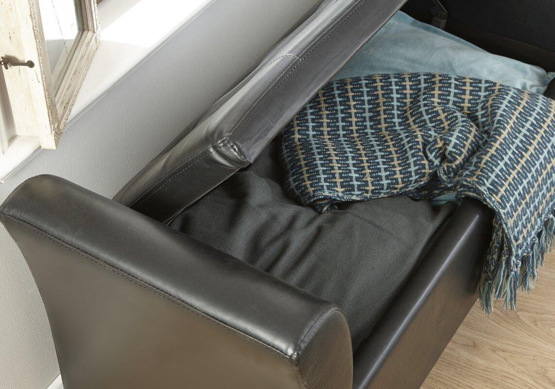 m hlenhaus gepolsterte schlafzimmerbank jeanette mit. Black Bedroom Furniture Sets. Home Design Ideas