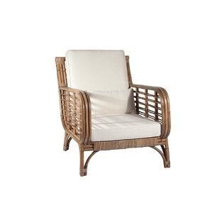 Bon Square Back Rattan Chair