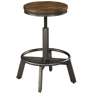 Canh Adjustable Height Bar Stool (Set of ..