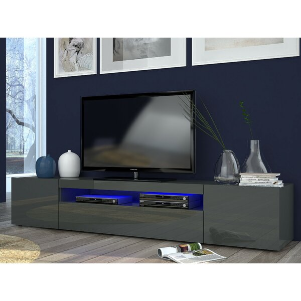 Castleton home daiquiri grande tv stand for tvs up to 78 for Meuble console tv