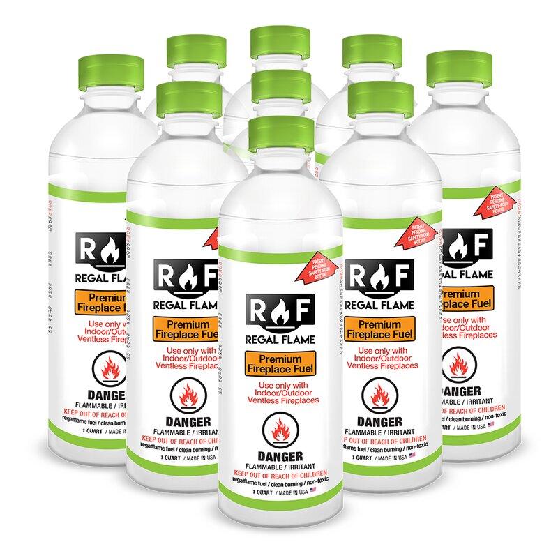 Regalflame Ultra Pure Ventless Bio Ethanol Fireplace Fuel Wayfair