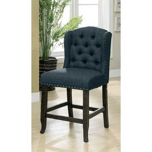 Tennessee Contemporary Counter Height Upholstered Dining Chair (Set of 2)