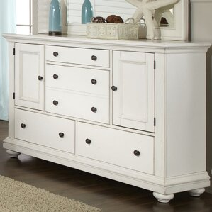 Galsworthy 5 Drawer Combo Dresser by Rosecliff Heights