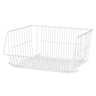 Pantry Metal/Wire Storage Basket By Closetmaid