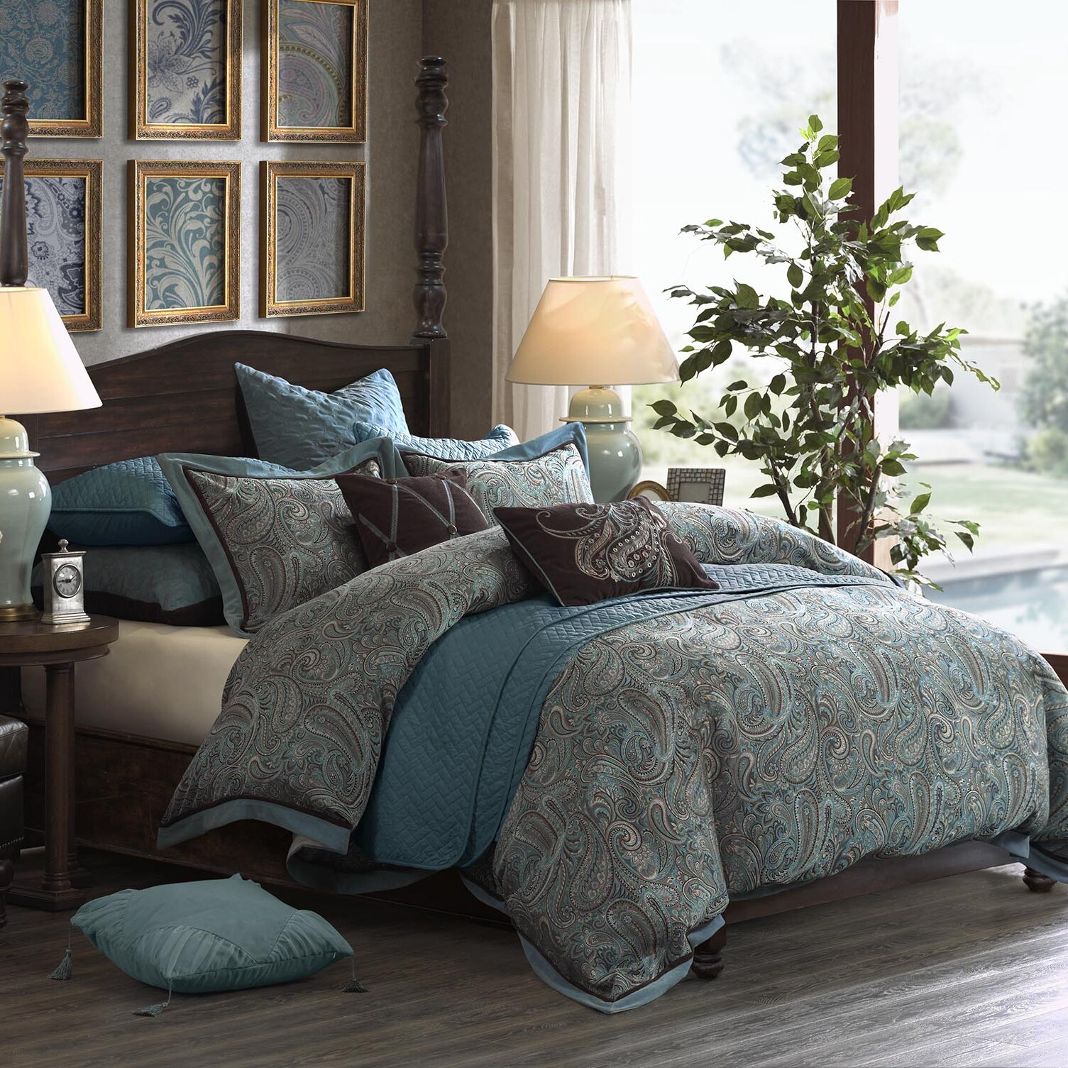 creamstripes retro nicole staggering lauren ah cheerful silver miller bedding by sets king ralph set cover comforter duvet piece