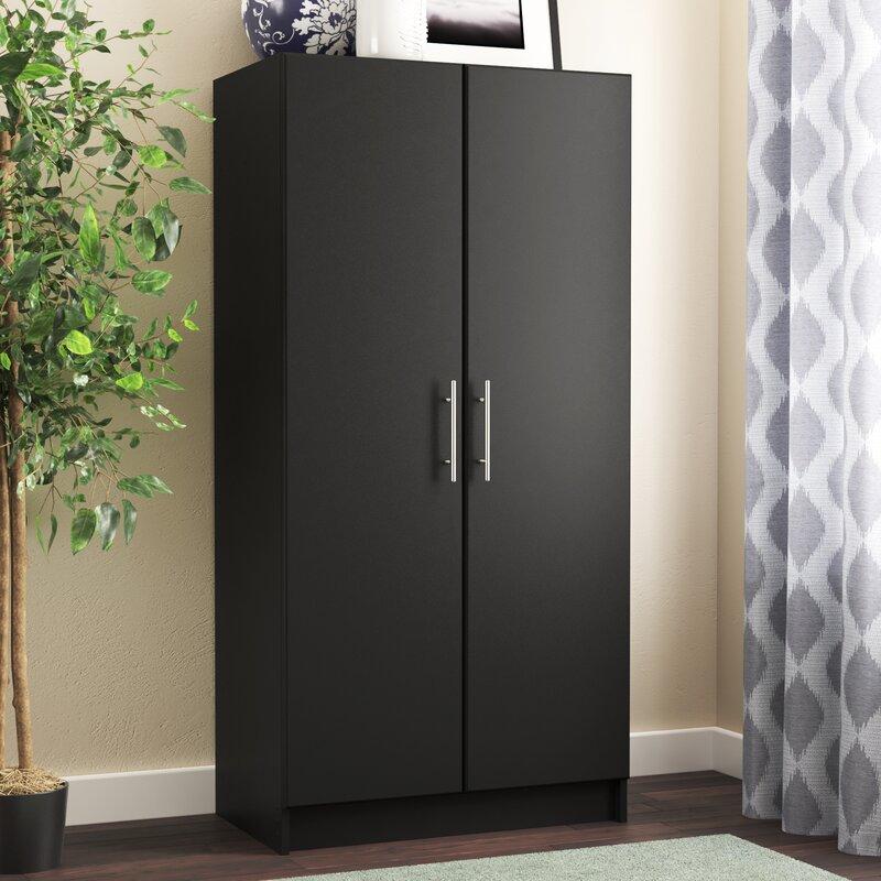Wayfair Basics 65 H X 32 W 20 D Wardrobe Cabinet Reviews