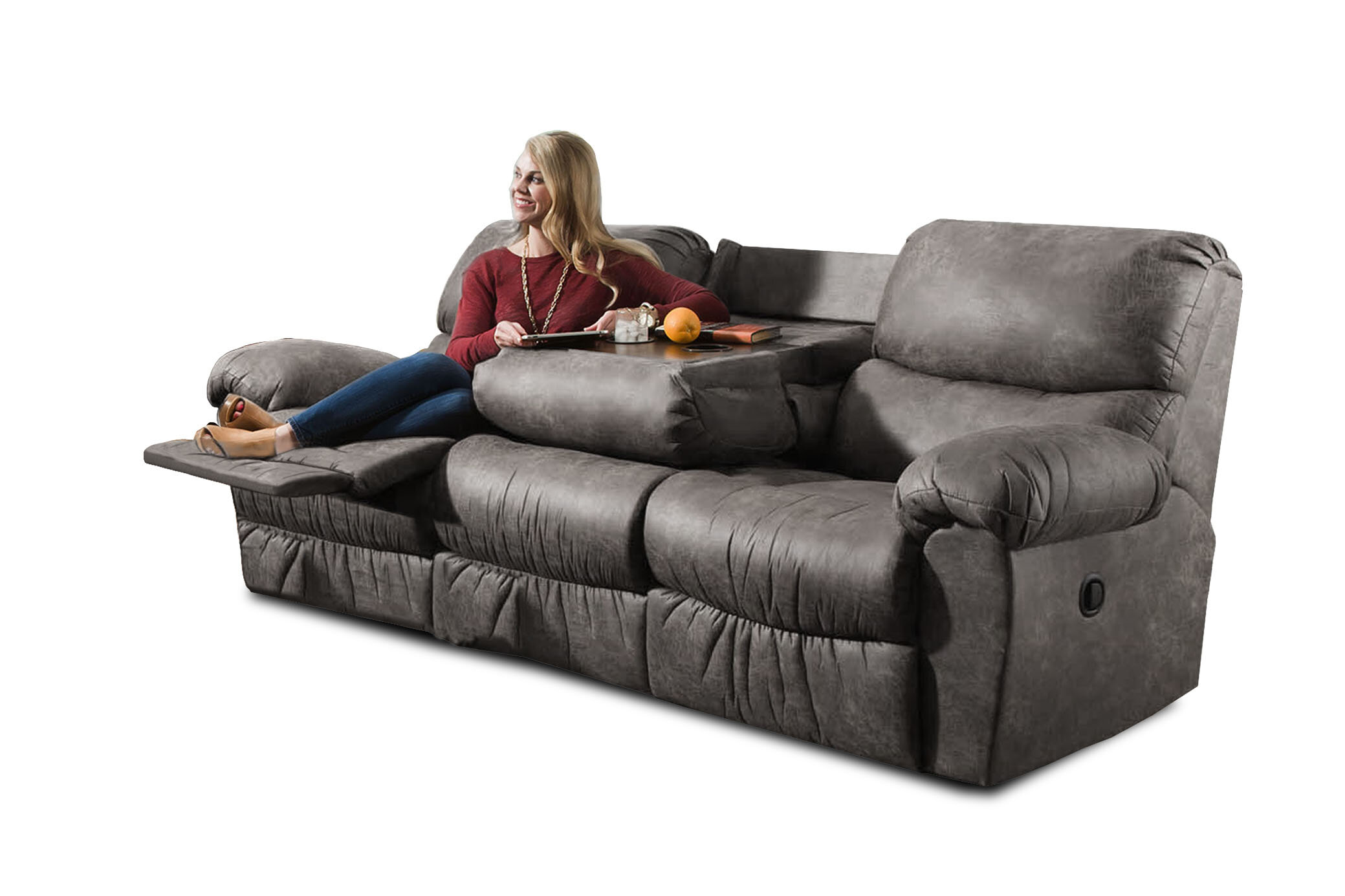 Loon Peak Alviso Reclining Sofa Reviews Wayfair