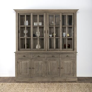 Maryanne Reclaimed Pine China Cabinet