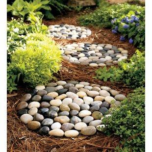 River Rock 3 Piece Stepping Stones Set