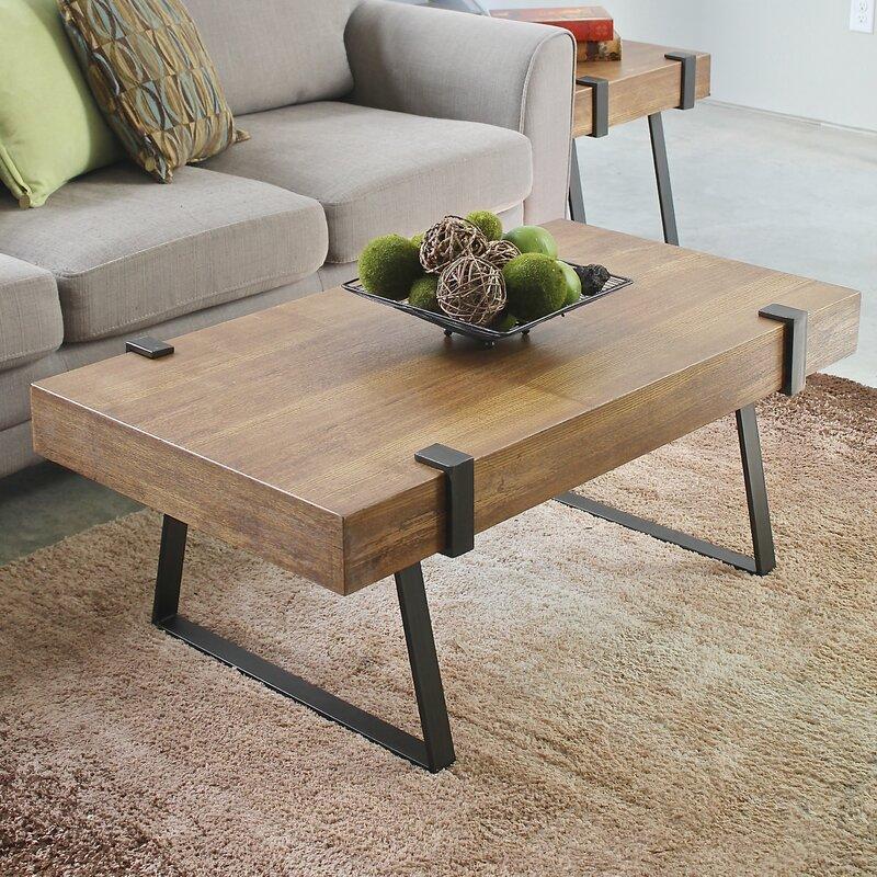 laurel foundry modern farmhouse wisteria indoor coffee table