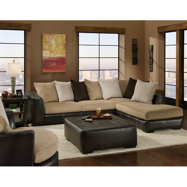 Two Toned Sectional Wayfair