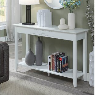 White Marble Top Console Table | Wayfair