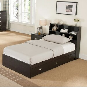 Distefano Luxurious Platform Bed with 3 Drawer Chest by Latitude Run