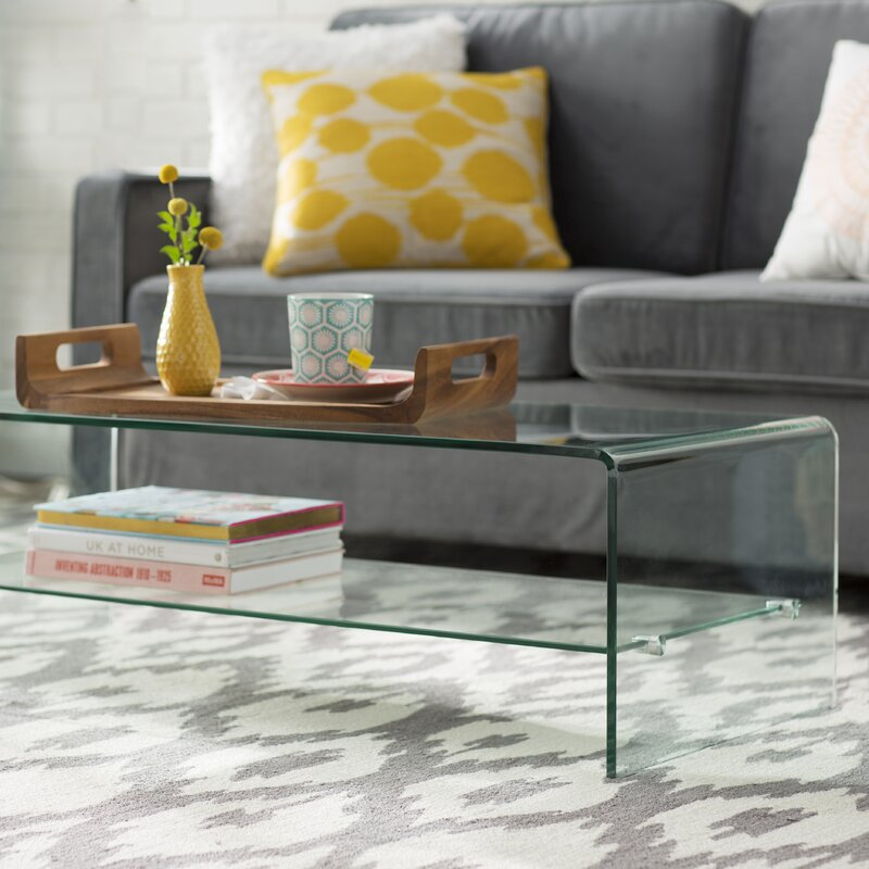 Great Artemon Transparent Coffee Table