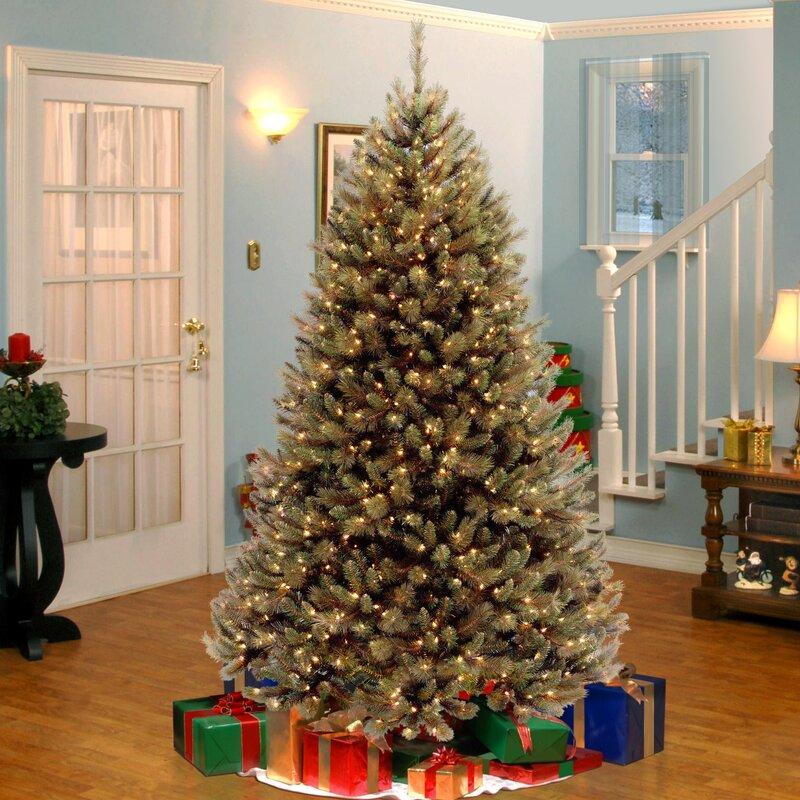 Christmas Tree Garden Ridge: The Holiday Aisle Rocky Ridge 7.5' Green Pine Trees